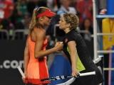 Daniela Hantuchova y Kim Clijsters