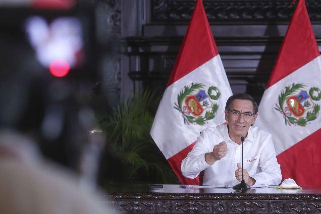 Un 79 % de peruanos considera que Martín Vizcarra debe continuar como  presidente | Serperuano.com